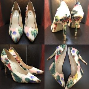 Guess Women's Pump Heels Pointy Shoes Colorful 10